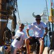 Gutta som har pynta seg, RS Liv i Tall Ships Races 2013